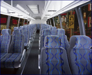 Mini coach bus rentals