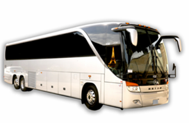 motor coach bus rental
