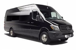 shuttle van rental