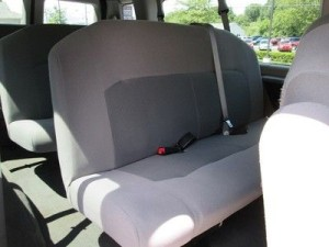 Ford Van Rental Interior