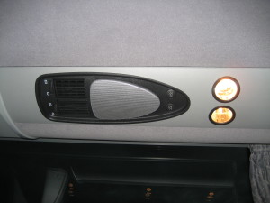 charter bus rental air vents
