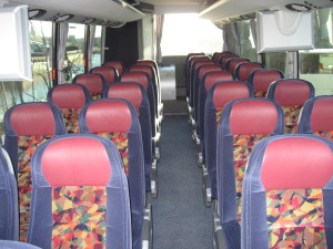 luxury coach bus rentals