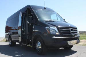 sprinter shuttle vans