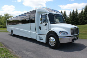 executive mini coach bus rentals