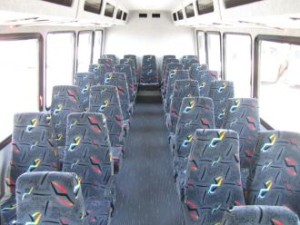 mini coach bus rental services